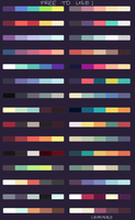 free colour palettes by criminaIs