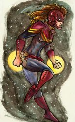 Captain Marvel by McMitters