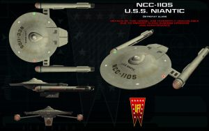 Detroyat class ortho - USS Niantic by unusualsuspex