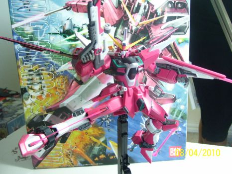 Infinite Justice MG Ver. B by The-Vash