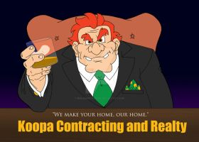 Koopa Contracting and Realty by BenjaminTDickens