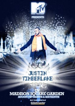 Justin Timberlake Concert by Soldout-design