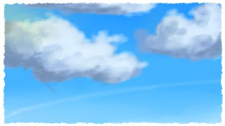 {Crappy anime sky test} by Swedenball