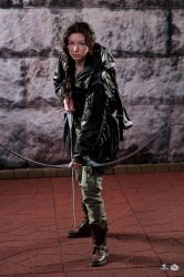 Katniss Everdeen in the 74th Annual Hunger Games by Verdaera