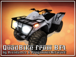 [MMD] Quadbike for MMD (PMX download) by Riveda1972