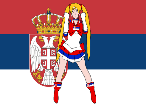 Sailor Serbia by LeoStar0012