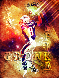 Gronk Spike by faded-ink