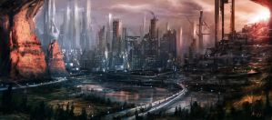 Draft City by Adam-Varga