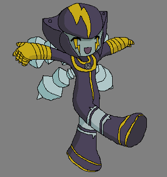 Rockman EXE 002 by chased-rainbows