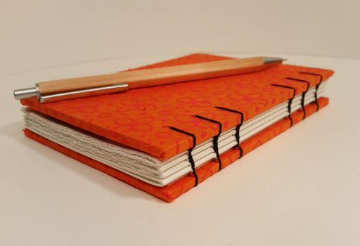 Orange and Black Book by Pepper-Dragon