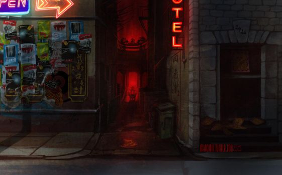Back Alley Divinity by marourin