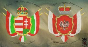 Polish Hungarian friendship by PdictusMagister