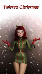 Twisted Christmas by SubversiveGirlArt