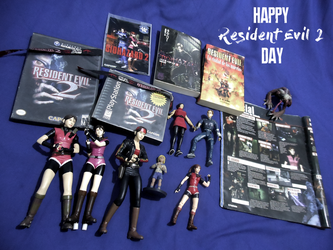 Happy Resident Evil 2 day by CodeClaire