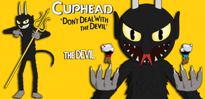 Cuphead - The Devil FOR XPS by ASideOfChidori