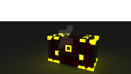 Voxel Chest by razvankun12