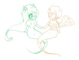 Jade and Dave by Gunmi