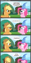 Pinkie's magic trick by Epulson