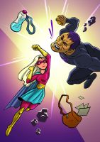 Girl Super by walid3