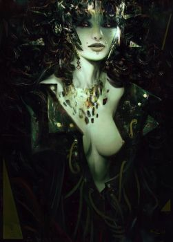 Lady Le Fay by rafa-insane