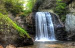 Looking Glass Falls by Daemare