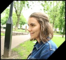 Smiling, in the Park by aquifer