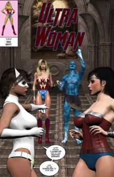 Ultra Woman: To Honor and Obey Cover by chainedknee