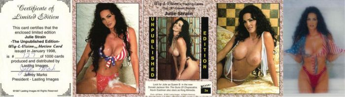 JULIE STRAIN THE UNPUBLISHED EDITION Factory Set by Viper005