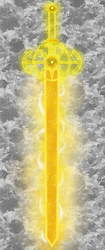 Glevis -- the Sword of Golden Light by BlueLeafeon