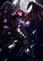 Queen of the night by Nyrine