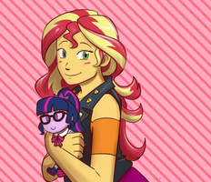 Equestria Girls: My Favorite Plushie by funakounasoul