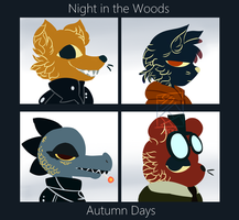 Night in the Woods-Autumn Days by smeefus-corn