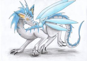 Apsu the Dragon by Jester-Wolf