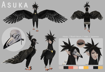 Asuka Second Life Reference by Japandragon