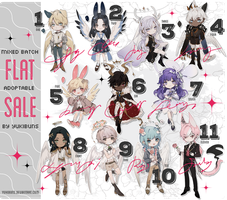 [mixed batch] flat sale [closed] by yukibuns