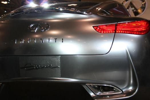 Infiniti Concept Car - Silver by suhaildawood