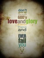 God's love and glory by imrui
