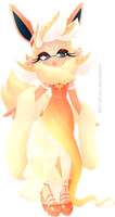 Flareon Inkling by Ghiraham-Sandwich