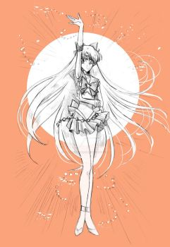 Sailor Venus by Orestes-Sobek