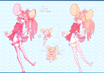 Cassia ~ Mouse Adopt (OPEN) by Jade-Hearts-Art