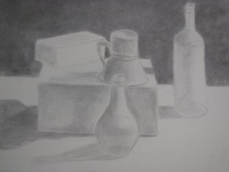 charcoal drawing one by Jeremy-Burner