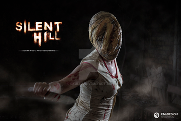 Silent Hill Scary Nude Photoshooting 01 by Skull2