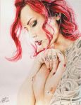 Rouge by Sideshowsito by AndresBellorin-ART