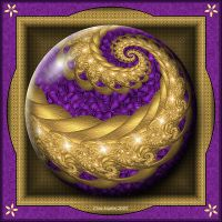Gift Box Marble - Royal Orb by Velvet--Glove