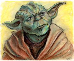 Yoda by Lonejax