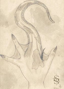Within Grasp - OC hand study by Sumi-Sprite