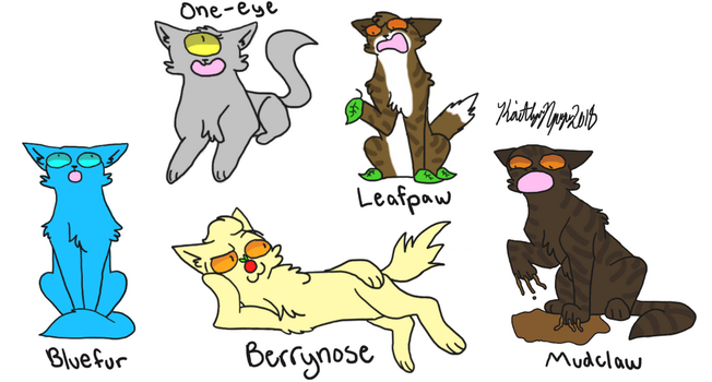 Warriors Cats Names Taken Literally 3 by bestsk8eva