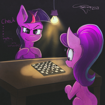 Checkmate (ATG VII Day 10) by Ferasor