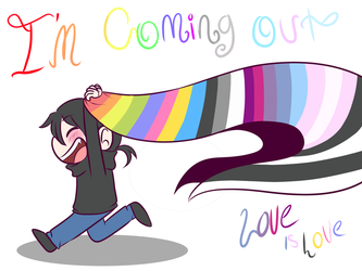 Im Coming Out (love is love) by chibi-dark-kitsune