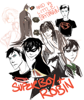 Young Justice Sketch Dump by is-teh-lurvz